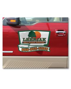 Vehicle Door Decals
